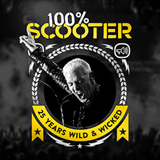 100% SCOOTER – 25 YEARS WILD & WICKED